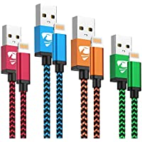 4-Pack Aioneus MFi Certified iPhone Charger Lightning Cable Cord