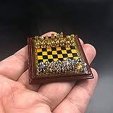 Clicked 1/6 Maßstab Metal Material International Chess für 12' Action-Figur-Zubehör Puppen...