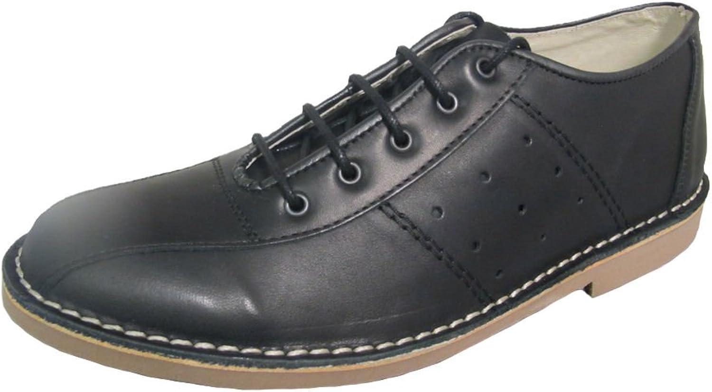 Ikon Original Mens Marriott Mod 60s 70s Leather Bowling shoes