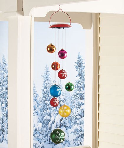 Bestseller Solar Lighted Hanging Mobile Ornament Balls Whimsical