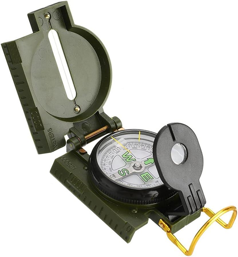 KJHD Portable Compass Military Fashion Outdoor Camping Folding Mini New life Lens