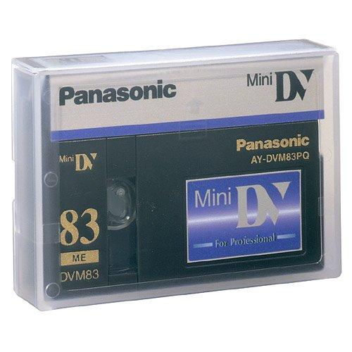Panasonic AY-DVM83PQ Professional Mini DV Tape 83min (Single Tape)