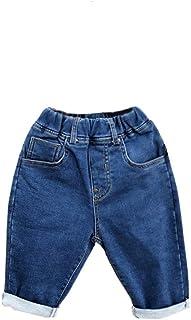HOSD Ropa para niños Jeans para niños Pantalones nuevos para bebés Pantalones para niños 2019 Pantalones para niños otoño ...