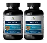 Brain Booster Pills - CHIA Seed Oil 2000MG - Source of Omega 3-6-9 - chia Seeds Bulk - 2 Bottles (120 Softgels)