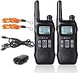 Retevis RT16 Walkie Talkie for Adults,Long Range Rechargeable Two Way Radios,NOAA Emergency VOX 22...