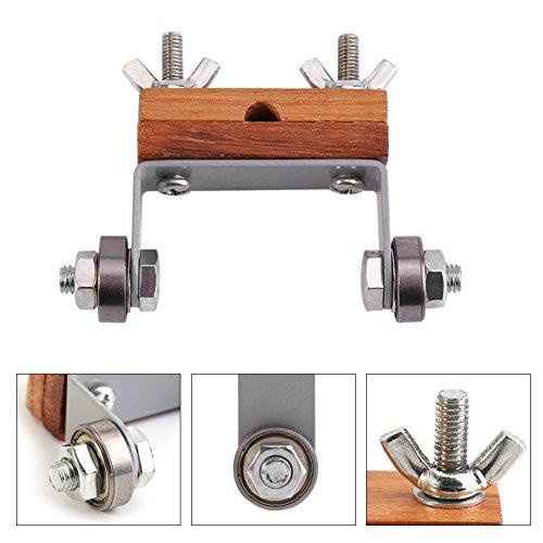 Guía de sacapuntas precisas, madera de 85 * 100 mm y acero hecho para la carpintería de cuchillos de tallado.