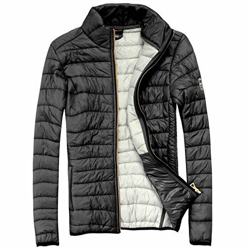 EXUMA Damen Sportbekleidung Aufgeblasen Jacke, Black, L