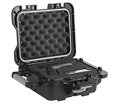 Plano Fieldlocker Medium Mil-Spec Pistol Case, Black, Medium
