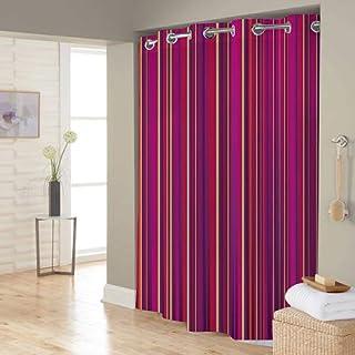Right Canvas Multi Color 180cm x 200cm Shower Curtain - RG138NPIC00117