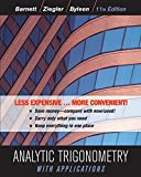 Analytic Trigonometry with Applications 11e Binder Ready Version + WileyPLUS Registration Card