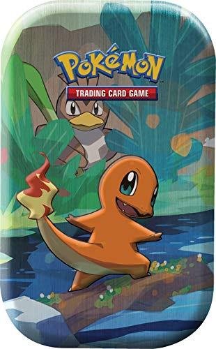 Unbekannt Pokemon - Kanto-Freunde Mini-Tin-Box - Glumanda - 1 Box - Deutsch