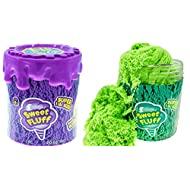 1 Pound Cotton Candy Putty Toys Scented Sensory Sand Fluff Stuff Stress Relief Kids Toy (1 Unit) Cloud Slime & Kinetic Mad Play Therapy Putty Magic Clay Fidget Anxiety Relief Kids Party Favor. 6599-1A