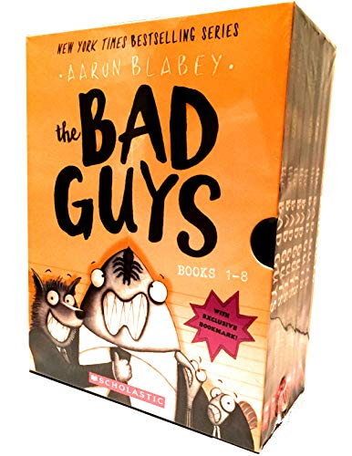 The Bad Guys Box Set: Books 1-8 by Aaron Blabey