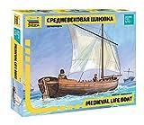 Zvezda 500789033 - 1:72 Medieval Life Boat -