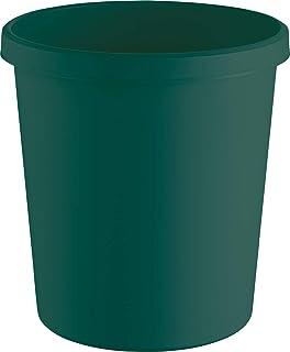 Helit H6405852 Corbeille à papier « the green german », 18 l, en plastique recyclé certifié ange bleu, 1 pièce