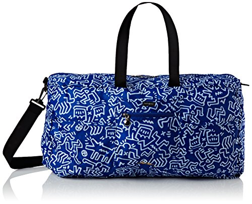 Samsonite Travel Accessories Foldaway Duffle Keith Haring Borsone, Graffiti Blue, 0.1 ml, 19 cm