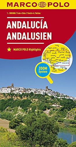 MARCO POLO Karte Spanien  Andalusien 1:300 000 (MARCO POLO Karten 1:300.000)