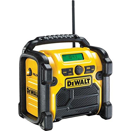 DeWalt DCR019-GB Compact Jobsite Radio Compatible with 10.8V/ 14.4V/ 18V