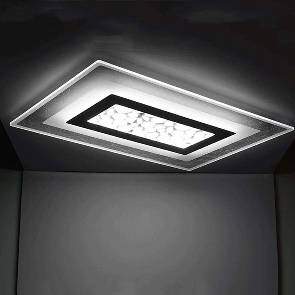 LAKIQ Super Cheap Thin Acrylic LED Flush Light Mount L Mesa Mall Fixture Ceiling