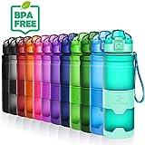 ZOUNICH Botella Agua sin bpa Deporte Botellas ecologica cantimploras para niños Reutilizable tritan plástico 1 l/700 ml/500 ml/400ml- Gimnasio, Oficina, Aire Libre, Yoga, Camping, Bicicleta