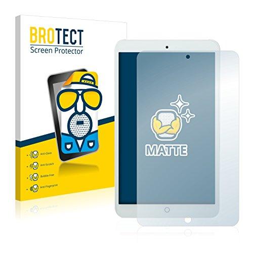 BROTECT 2X Entspiegelungs-Schutzfolie kompatibel mit irulu eXpro X1S (8.1) Metal Rear Bildschirmschutz-Folie Matt, Anti-Reflex, Anti-Fingerprint