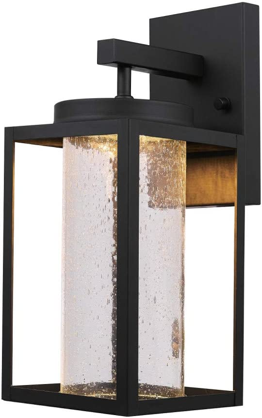 Globe Electric free shipping Rapid rise 44359 Capulet LED Wall Indoor Integrated Outdoor