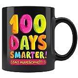 HAPPY 100th DAY of SCHOOL Teacher Child 100 Days Gift Mug Coffee Mug 11oz Gift Tea Cups 15oz
