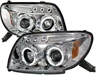 For Toyota 4Runner Chrome Clear Halo Led Projector Headlights
