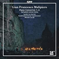 Complete Piano Concertos 1-6 Variazioni Senza Tema by Sandro Ivo Bartoli (2007-10-30)