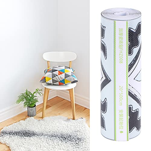 Decalcomanie per piastrelle, adesivi murali autoadesivi in PVC per decorazioni per la casa per armadi cucine, bagni per vetrine per adesivi