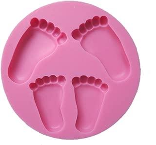 Yunko Pretty Baby Feet Fondant Mold Wedding Cake Mould Decoration Baking Tool