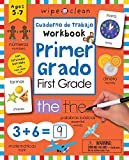 Wipe Clean: Bilingual Workbook for First Grade (Wipe Clean Activity Books) (Spanish Edition)