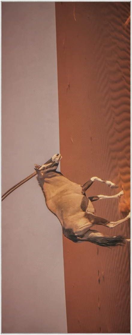 Cloth Yoga Mat Beautiful depot Super Max 46% OFF Landmark Cover Antelope