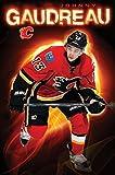 The Poster Corp Calgary Flames; - J Gaudreau 15 Laminiertes