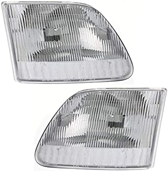Best 1999 ford f250 headlights Reviews