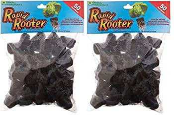 General Hydroponics Rapid Rooter Replacement Plugs 100 Count Pack of 2