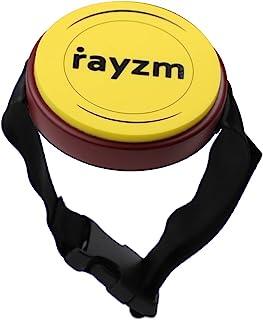 Rayzm Mini Drum Pad de Pierna Ajustable para Practicar, 4 Pulgadas (10,2cm) Almohadilla de Silicona de Buena Respuesta y S...