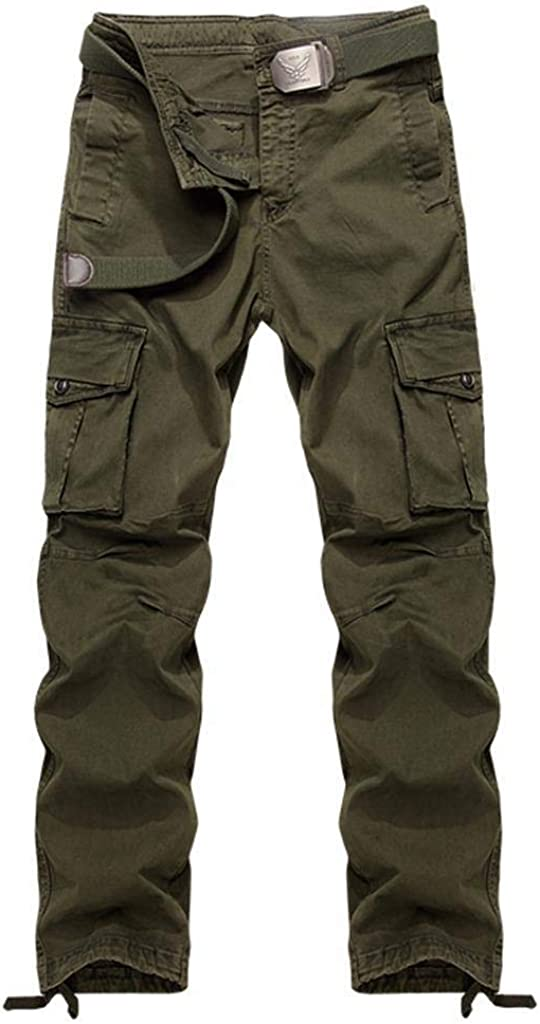 TRGPSG Men's Casual Large discharge sale Super sale period limited Relaxed Fit Hiking Pants Lightweight Cargo