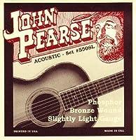 JOHN PEARSE 550SL フォスファーブロンズ Slightly Light(11-50) ジョンピアーズ アコースティック弦 【国内正規品】