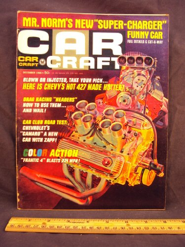 1966 66 December CAR CRAFT Magazine, Volume 14 Number # 8 (Features: The Man From Mercury / Nifty Shifter / Mountain Cub, Triumph 200cc Trail Bike / 427 Chevy Even Hotter)