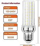 Zoom IMG-1 hzsanue led lampadina mais 20w