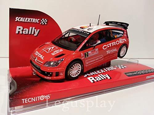 SCX Slot Scalextric 6304 Citroën C4 WRC Dani Sordo Rallye Monte Carlo 2008 Nº2