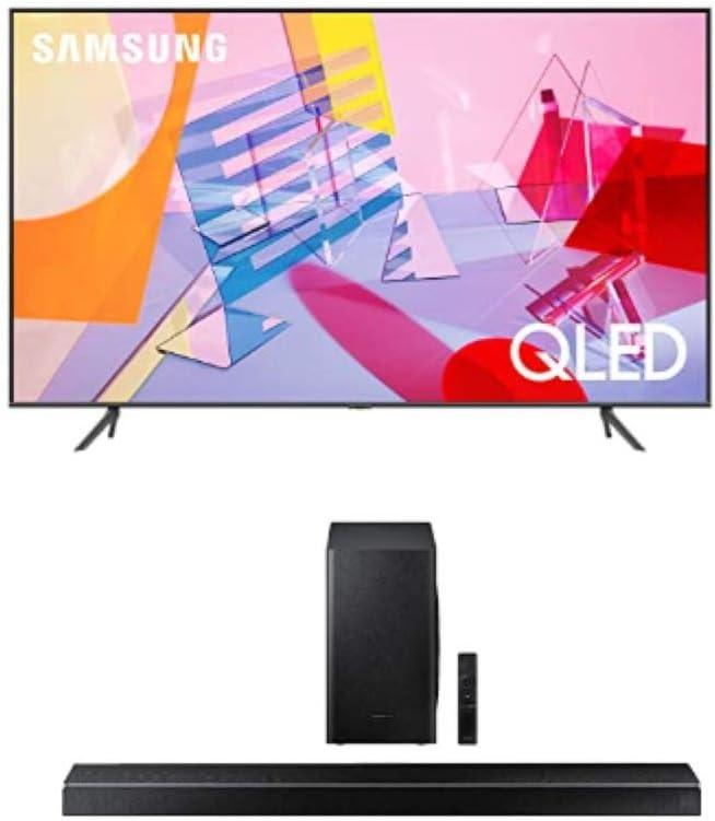 SAMSUNG Q60T Series 50-inch Class QLED Latest item Inexpensive L Smart 4K TV Dual UHD