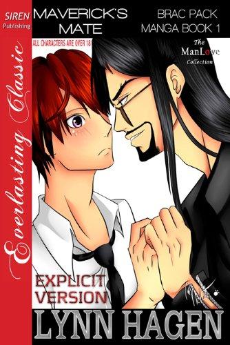 Maverick's Mate [Brac Pack Manga Book 1] (Siren Publishing ManLove Romance - EXPLICIT VERSION) (English Edition)