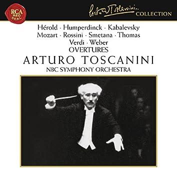 Humperdinck - Mozart - Rossini - Smetana - Verdi - Weber: Overtures