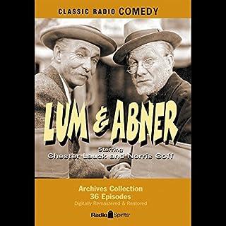 Lum & Abner audiobook cover art