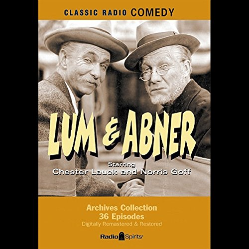 Lum & Abner audiobook cover art