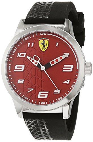 Scuderia Ferrari Orologio Analogico Quarzo Bambini con Cinturino in...