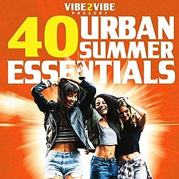40 Urban Summer Essentials