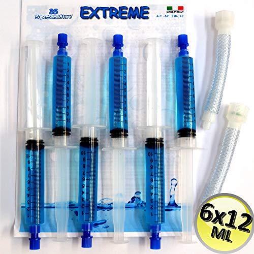 SUPERSAMASTORE Autosigillante turafalle Extreme - 6 cartucce da 12 ML + Adattatori a tubo in plastica